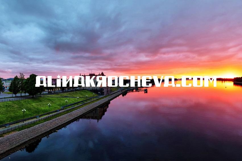 Sungai Volga dan Lena